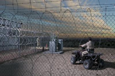 Bigelow Aerospace Security fence