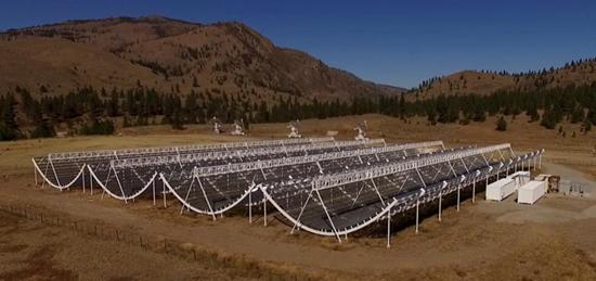 Canada's new CHIME telescope