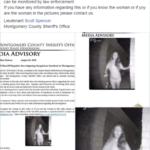 Texas police seek identity of barefoot women in broken restraints who rang doorbell in middle of night.