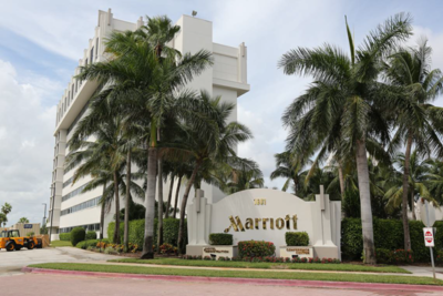 Florida Marriott where plea agreement was hashed out