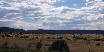 Jeffrey Epstein New Mexico Ranch - northeast view (home on plateau)