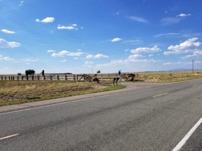 Jeffrey Epstein New Mexico Ranch - southeast main entrance