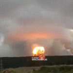 Russian accidental nuclear explosion
