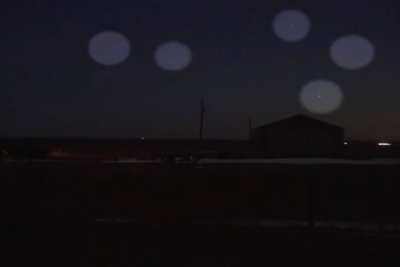Drone swarm in northern Colorado captured by CBS news crew