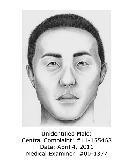 Sketch of Long Island Serial Killer 2011
