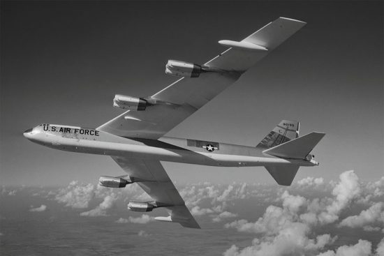 Boeing B-52G-95-BW Stratofortress 58-0190, the same type as Keep 19